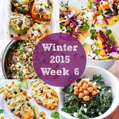 Meal Plan: Winter 2015 Week 6
