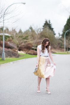 The Perfect Skirt For Spring and Easter