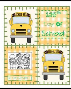 This 54 page unit includes everything you need to celebrate the 100th day of school! It includes songs, an original guided reading book, book suggestions, 2 parent letters, snack idea, and worksheets such as If I Had 100 Dollars writing, My 100 is a..., 100 Year Old People, 100 Day Banner, 2 types of 100 Day glasses and more!
