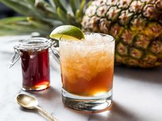 Turn Pineapple Cores Into a Fresh, Fruity, No-Cook Syrup   Serious Eats