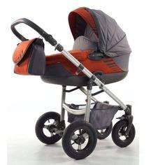 Kočárek Jumper Light plastová korbička, cihlová Baby Strollers, Children, Kids Wagon, Baby Prams, Young Children, Boys, Strollers, Child, Kids