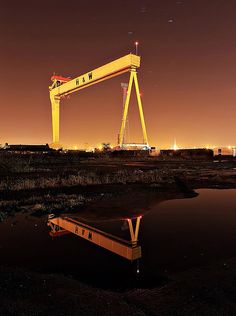 Belfast Shipyard. Located near the Europa and Stormont Hotels. www.hastingshotels.com