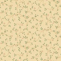 Leaf Trail Wallpaper - from Design by Color/Beige book Beige Wallpaper, Classic Wallpaper, Wallpaper Ideas, Book Aesthetic, Aesthetic Vintage, Arts And Crafts Interiors, Victorian Wallpaper, Mountain Wallpaper, Iphone Design