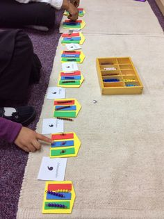 Not long ago I was introduced to a brilliant counting activity which has been invented for Montessori classrooms; Infinity Street. This ac...