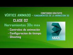 Curso de animacion 3D - Clase 02 - Herramientas 3Ds max  Comparte y Subscribete. https://www.youtube.com/user/verticeanimado