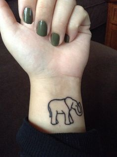 Elephant tattoo❤️
