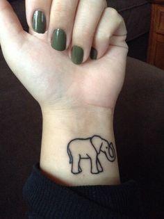 Elephant tattoo❤️