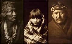Beautiful portraits of the Navajo Native American by Edwards S. Curtis in 1904 …