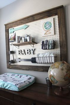 Adventure Awaits Travel themed nursery
