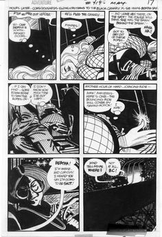 Alex Toth Black Canary Adventure 419 pg 3, in Gary Land's Alex Toth Memorial Gallery Comic Art Gallery Room - 573724
