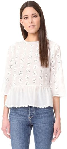74 Best Eyelet Tops Images Eyelet Top J Crew Summer Clothes