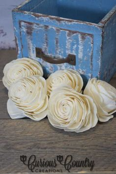 Use some of our Wood Roses to make wedding bouquets, centerpieces, wall pieces. CuriousCountryCreations.com