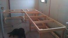Corner Workbench Base