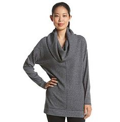 Calvin Klein Performance Solid Cowl Thermal Tunic Size Small