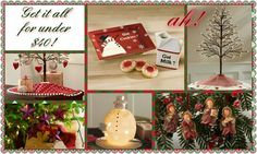 #Christmas shopping made easy! Get all these items shown for under $40 http://harmony.athome.com/browse/christmas-in-july.html