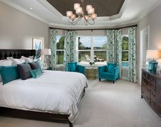 Good Morning!! A light and whimsical Master Suite is sure to start your day perfectly - energized and happy!
