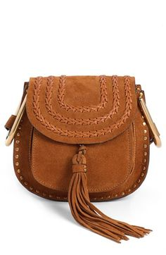 chloe suede crossbody // for the bougie bohemian girl