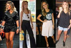 Looks casuais da Sabrina Sato Sabrina Sato, Skater Skirt, Casual, Ideias Fashion, Leather, Style, Going Out Clothes, Vestidos