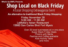 Black Friday Shopping Extravaganza Nov 28 2014 in Fort Myers  Read all about the alternative to Traditional Black Friday shopping