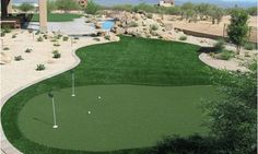 Want your own home putting green? It's not too far out of reach! Check out this gallery of putting greens straight out of backyards.