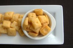 365 Days of Baking and More: Day 317 - Homemade Cheese Crackers