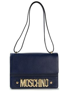 Shop MOSCHINO 'Rossella' Shoulder Bag at Farfetch