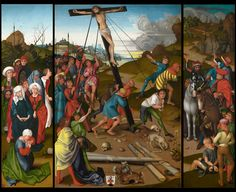 The Starck triptych, c. 1480/1490,  National Gallery of Art Master of the Starck Triptych (painter) German
