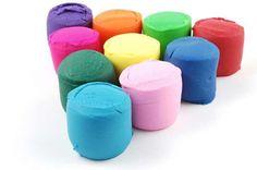 Colored Playdough
