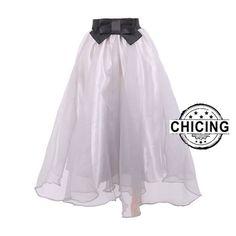 Seersucker Mesh Tutu Skirt Casual Women Skirt Only $22.99 => Save up to 60% and Free Shipping => Order Now! #Skirt outfits #Skirt steak #Skirt pattern #Skirt diy #skater Skirt #midi Skirt #tulle Skirt #maxi Skirt #pencil Skirt