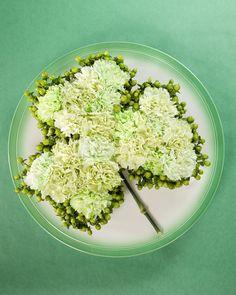 shamrock flower arrangement