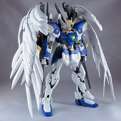 MG 1/100 Wing Zero Custom - Customized Build   Modeled by Kouichi