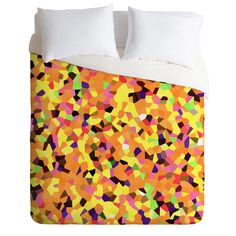 Rosie Brown Carnaval Duvet Cover | DENY Designs Home Accessories    #art #duvet #cover #bedding #bedroom #homedecor #abstract #mardigras #denydesigns