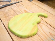 Разделочная дощечка в виде груши Bamboo Cutting Board