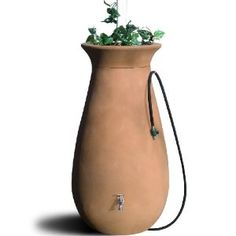 rainbarrel planter