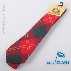 Chisholm Modern Tartan Tie. Free worldwide shipping available
