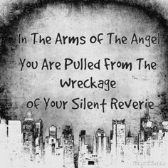 Sarah McLachlan Arms of an Angel. I heard this after John F Kennedy Jr died and this haunting melody along with the video footage had me bawling my eyes out. I liked this song before but everytime I hear that now I think of that montage.