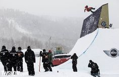 Peetu Piiroinen made it through the finals in both slope and pipe. Only one other rider, Stale Sandbech, did that.  PHOTO: Nick Hamilton   Mark McMorris and Spencer O'Brien win the 31st Burton US Open in Vail Colorado   TransWorld SNOWboarding Magazine