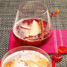 Apfel-Zimt-Bowle Rezept | Küchengötter