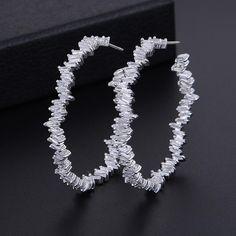 New Trendy Drop Earrings Square simulated Pearl Jewelry Earrings For Women Simple Brincos High Jewelry, Pearl Jewelry, Pendant Jewelry, Jewelry Accessories, Square Earrings, Circle Earrings, Women's Earrings, Swarovski Heart Necklace, Cubic Zirconia Earrings