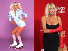 Since the many of the famous faces in the entertainment industry have changed. This begs the question: Just where are these most famous stars now? Suzanne Somers, Three's Company, Stars Then And Now, Young Actors, Yesterday And Today, Famous Faces, S Star, Older Women, Movie Stars