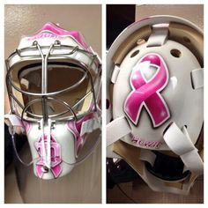 Red Wings goalie Jimmy Howard will wear this mask in support of Breast Cancer Awareness...Quite a guy...thanks Jimmy...