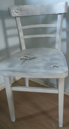 shabby chic upcycled vintage chair
