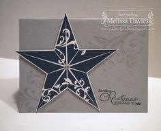 RubberFUNatics: Shimmery Christmas Star