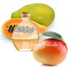 Esencia aromática de Mango y Papaya. Ideal para aromatizar tus cremas, estupenda tambien para velas , jabones y Mikados.