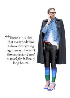 College Prep: Best Jenna Lyons Quotes Jenna Lyons, Pretty Words, Beautiful Words, Fashion Quotes, Some Words, Powerful Words, Words Quotes, Me Quotes, Style Icons