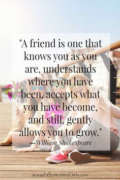 Friendship quotes: As part of BFF week at Fit Bottomed Girls, Erika has put together the top 10 best friend quotes (with some cute memes fo – Quotes Quotes Loyalty, Bff Quotes, Best Friend Quotes, Cute Quotes, Great Quotes, Quotes To Live By, Best Friends, Inspirational Quotes, Friends Girls