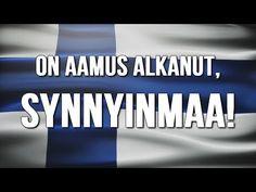 """Suomen kansallishymni - """"Finlandia hymni"""" (Suomen teksteillä) - YouTube Finland, Music, Youtube, Musica, Musik, Muziek, Music Activities, Youtubers, Youtube Movies"""