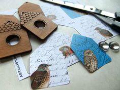 ARTchix Studio: Inspiration: Classroom: Birdhouse Necklaces