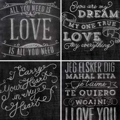 Chalk Board Printables discount at Doe a Deery!