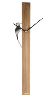 Karlsson Wall Clock bei Free transport and order with 100 days a refund assure! Diy Clock, Clock Art, Clock Decor, Unusual Clocks, Cool Clocks, Silver Wall Clock, Lampe Metal, Decoration Chic, Wall Watch